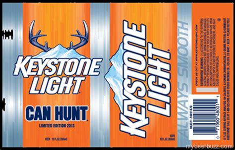 Calories In Keystone Light by Keystone Light Can Hunt Limited Edition 2013