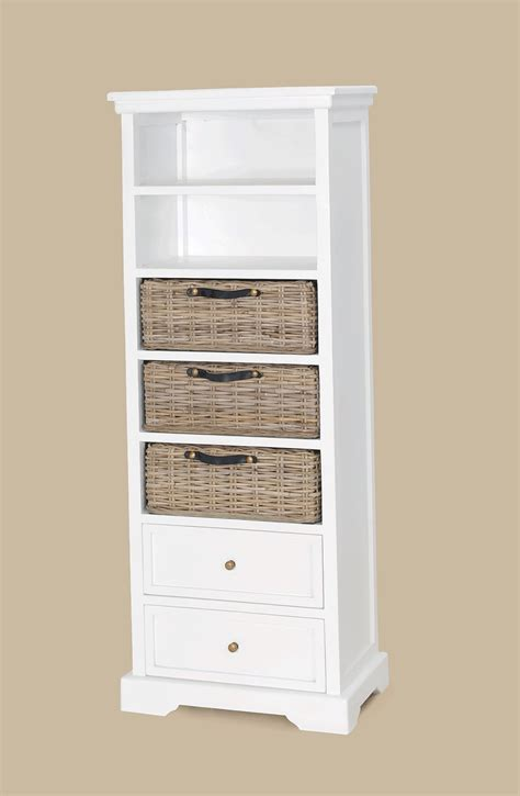 white bookcase with drawers white narrow bookcase small narrow white bookcase