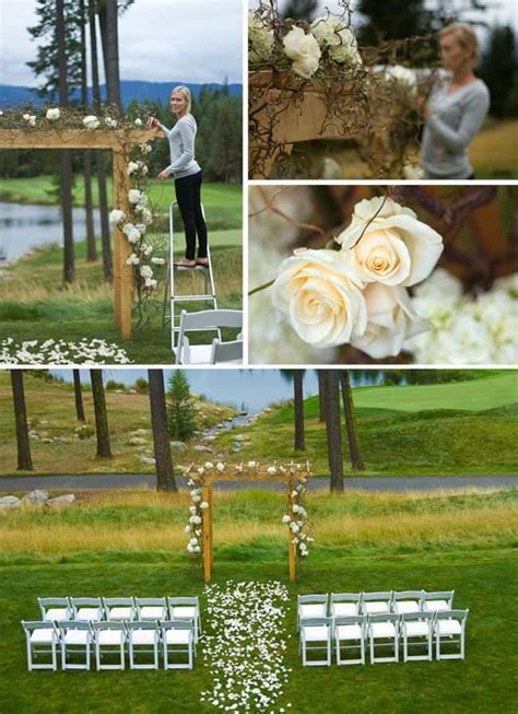 best backyard wedding ideas small backyard wedding best photos page 4 of 4 cute