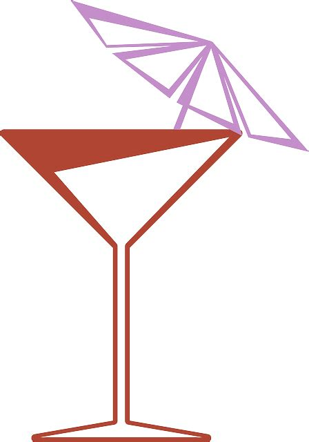 martini glass with umbrella cocktail fiesta glass martini party umbrella public