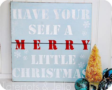 make a stenciled sign tutorial