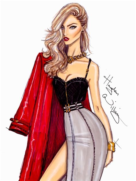 Fashion Faceoff Hayden Vs Vs by My For Hayden Williams Fashion Illustrations The