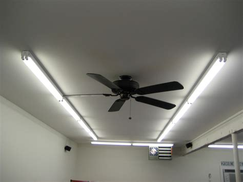 Garage Ceiling Fan With Light Hidden Blades