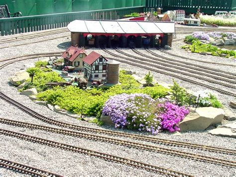 G Scale Garden Railway Layouts Big Sky Garden Railway Nanton Ab