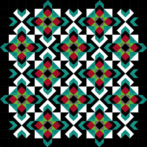 New Quilt Designs by 2017 New Year S Day Mystery Quilt Pattern