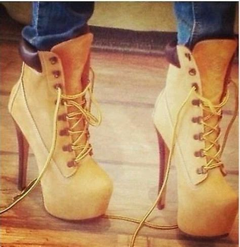 high heel timberland timberland high heel boots gloss