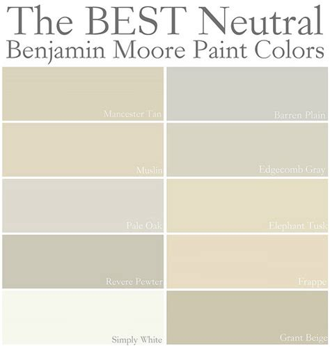 best neutral colors for walls best neutral paint colors benjamin moore enchanting best