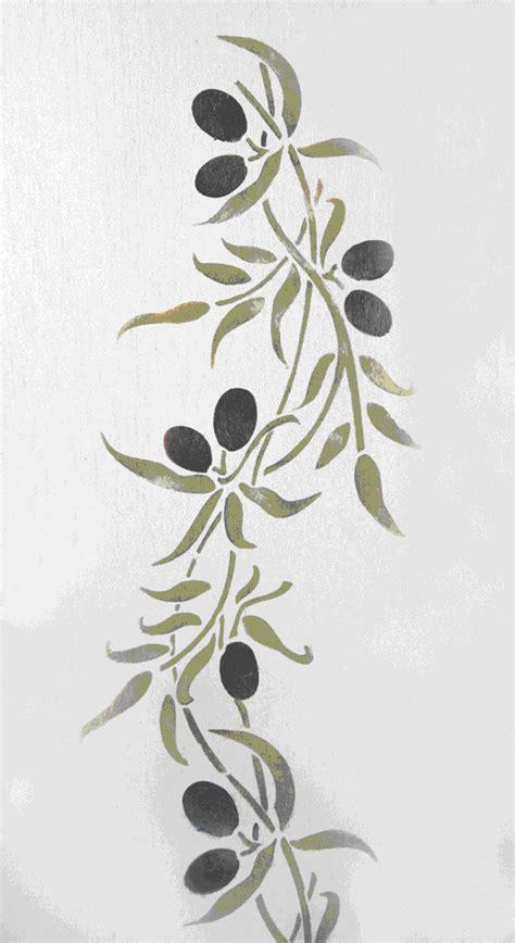 cuisiner le c駘eri branche pochoir branche d olivier