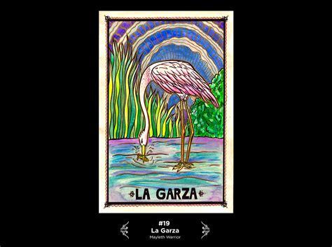 loteria la garza loter 237 a mexicana ilustrada on wacom gallery
