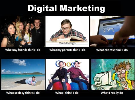 What I Really Do Meme - what digital marketers really do the hotel marketing blog
