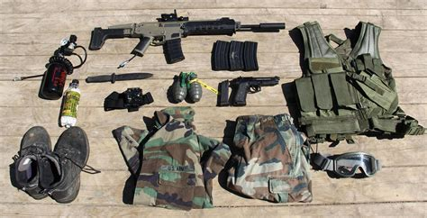 One Polar 3192 Sling Bag Green loadout and evolution of my gun airsoft