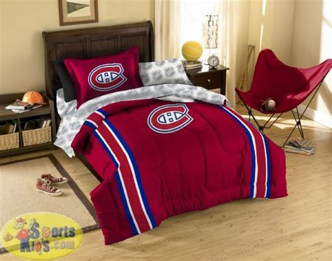 chicago blackhawks comforter set canadiens bedding northwest nhl montreal canadiens