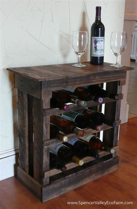 diy pallet wine rack plans woodworking projects plans