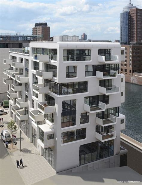 Impressive Apartment Building In Hamburg By Love Apartment Building Design