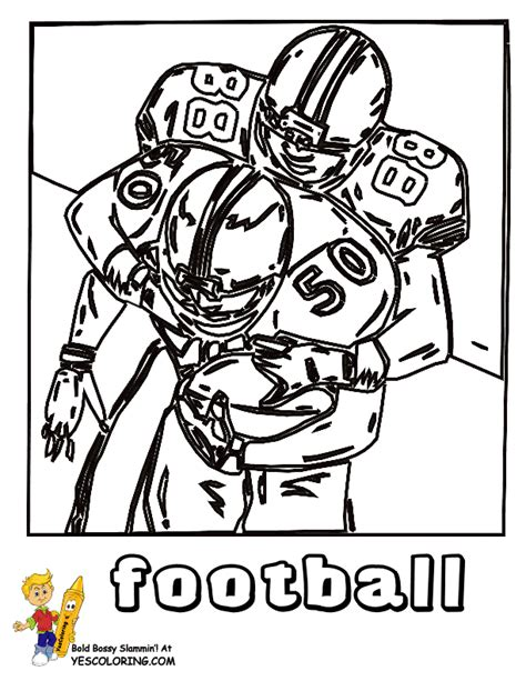 coloring page of a football player fired up football coloring pictures free coloring