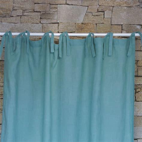 Aqua Washed Linen Curtain Maison D 233 T 233