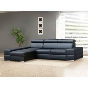 leather corner sofa bed anzio