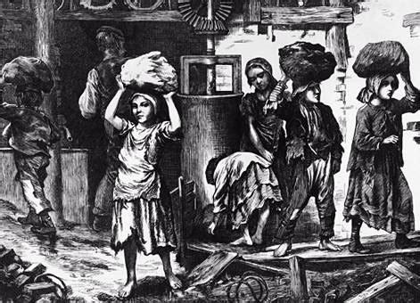 lavoro minorile nell inghilterra vittoriana le condizioni di vita degli operai durante la rivoluzione industriale le rotaie del futuro