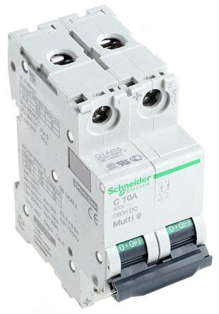 Mcb Domae Mini Circuit Breaker Schneider 2p 6a 2x6a mgn61528 multi 9 mgn mcb mini circuit breaker 2p 10 a