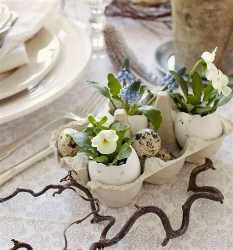 composizioni pasquali con fiori decorazioni pasquali per la casa fai da te le 10 pi 249