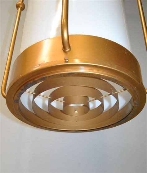 cylindrical ceiling light fixture vintage industrial coppertoned cylindrical chandelier