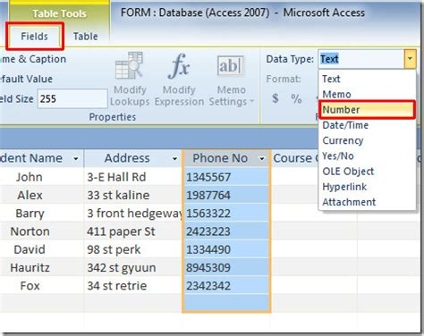 how to switch to layout view in access 2013 access change design view font change access 2010 table