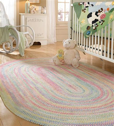 Baby Area Rugs For Nursery Baby S Breath Grass Braided Rug By Capel