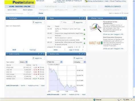 banco posta in proprio trading bancoposta come fare trading con