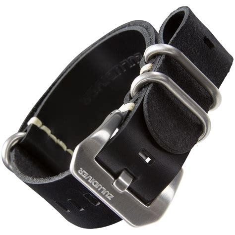 Nato Zulu 20mm zuludiver 174 genuine leather pre v zulu nato