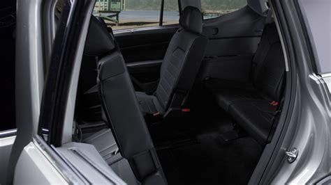volkswagen atlas rear seat leg room youtube