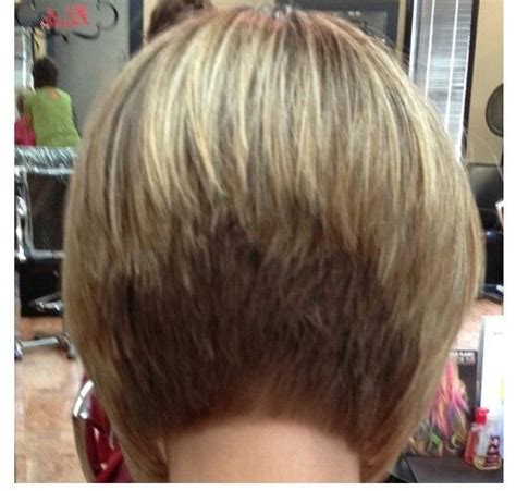 short bob with shorter layers at crown the stacked bob hair style is a tightly layered short hair