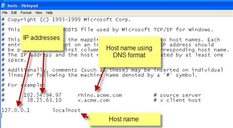 best dns host location of host files in windows 10 hosts file on pc