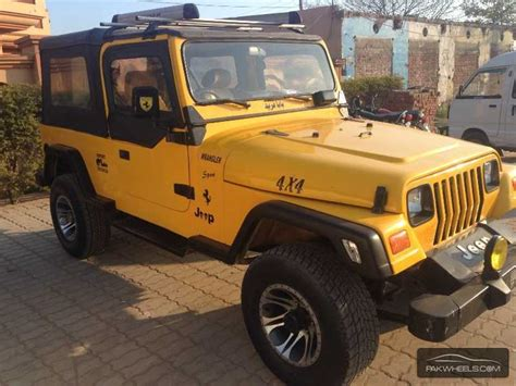Jeep Wrangler 1980 Wrangler For Sale In Sialkot Pakwheels