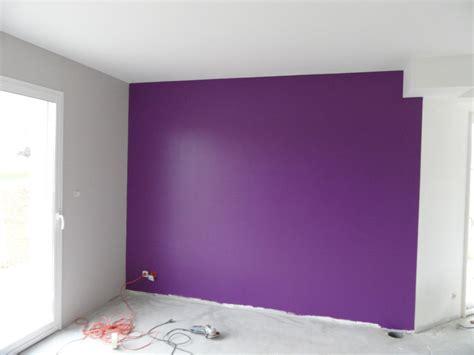 id馥 d馗o mur chambre chambre mur violet 2017 avec enchanteur chambre mur violet