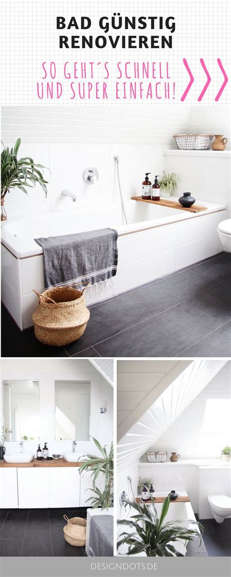 Kleines Bad Selbst Fliesen by Badezimmer Selbst Renovieren Vorher Nachher Design Dots