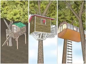 hoe kan je zelf een boomhut bouwen hobby bouwtekening