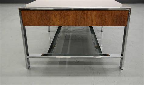 mid century modern glass coffee table mid century modern chrome and smoked glass coffee table at