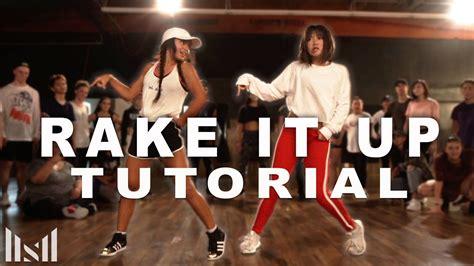 ne yo dance tutorial quot rake it up quot yo gotti ft nicki minaj dance tutorial