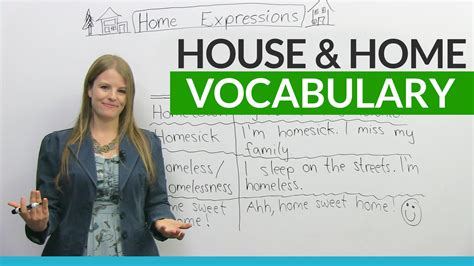 house meaning vocabulary expressions with house and home