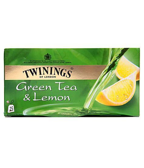 Twinings Green Tea Lemon 25 Teabags twinings green tea lemon 25 tea bags buy twinings green tea lemon 25 tea bags at best