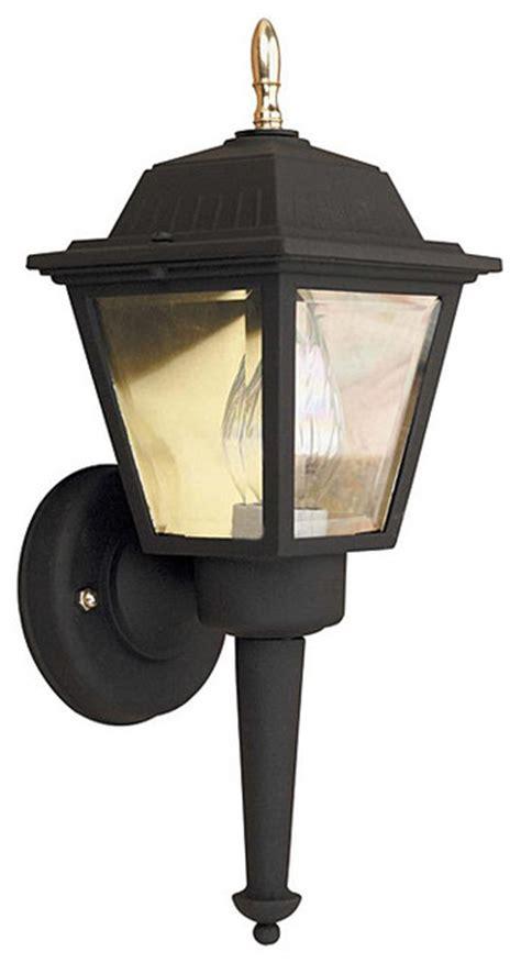 overstock outdoor lighting aztec lighting transitional black outdoor 1 light wall