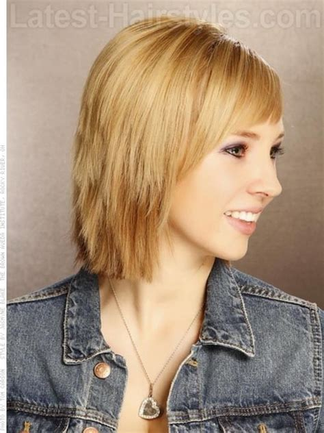 images of chopped bob hairstyles choppy layered hairstyles