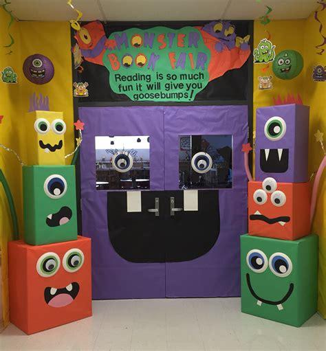 halloween book themes mckenzie elementary school monster book fair book fair