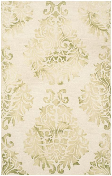 green and beige area rugs safavieh dip dyed ddy516b beige and green area rug free shipping