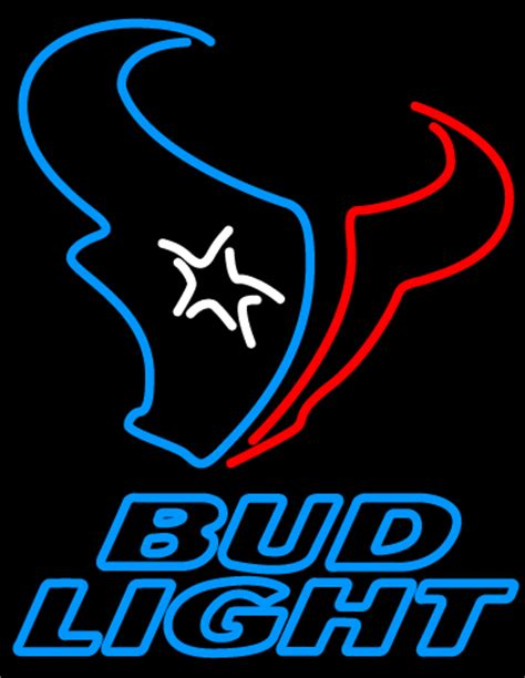 order nfl bud light cans nfl bud light houston texans neon sign neon