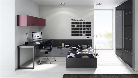 habitacion juvenil cama canape  armario estilo japones