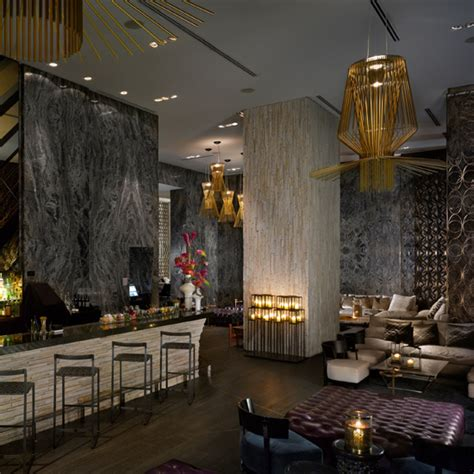 Living Room Bar Miami by Best Hotel Bars Food Wine