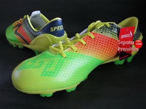 Sepatu Futsal Specs Accelerator Escala In specs accelerator escala fg spotyellow opalgreen navy sepatu bola sepatu futsal sepatu