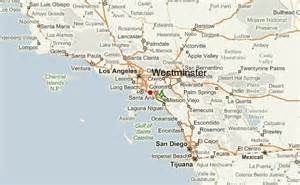 map of westminster california westminster california location guide