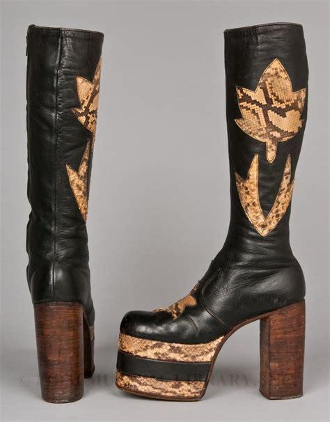 shoe lust 70 s platforms she s my lil rock n roll